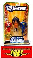 JLU 3 FIGURE SET! JUSTICE LEAGUE UNLIMITED! STARMAN! ANIMAL MAN! ADAM STRANGE!
