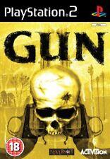 Gun (PS2) Video Game-Manual-Cover
