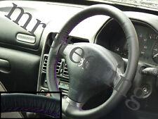 Para Peugeot 206 De Cuero cubierta del volante púrpura St