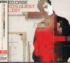 ED CASE - Ed's guest list - Japan CD+2BONUS - NEW