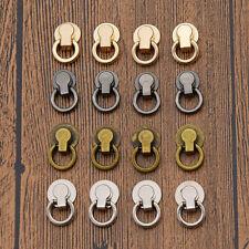 10Pcs Screw Round Head Ring Metal Clasp Button For Bag Purse Turn Lock Twist