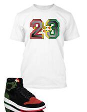 23 Graphic T shirt To match Air Jordan 1 Retro High Flyknit BHM Shoe Pro Club T