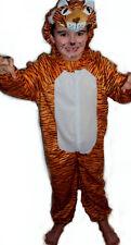 Tiger Leopard Kinder Katze Kostüm Fasching Halloween Karneval Kinderkostüm
