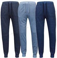 Mens Slim Fit Tracksuit Bottoms Skinny Jogging Joggers Sweat Pants Trousers S-XL