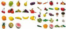 Erzi Kaufladenzubehör aus Holz * Obst und Gemüse * Auswahl *