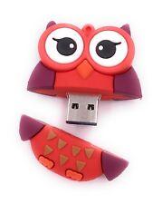 Búho en Rojo USB Stick 8gb 16gb 32gb USB 3.0