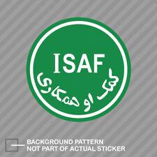 ISAF Sticker Decal Vinyl NATO International Security
