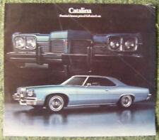 PONTIAC CATALINA brochure 1973 (usa imprimer)
