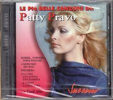 PATTY PRAVO CD sigillato LE PIU BELLE CANZONI Made in ITALY serie SUCCESSO 1998