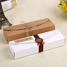 5pcs Kraft Boxes  Paper  handmade candy /chocolate packing box storage DIY lz