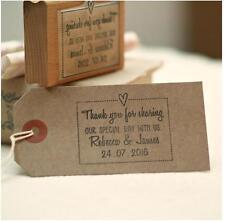 """Personalizado De Boda Favores """"gracias por compartir nuestro sello especial día"""