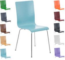 Chaise cuisine PEPE fauteuil bois chromé salle à manger visiteur siege design