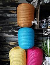 Stabil Papierlampe Lampion Lampenschirm Oval Zylinder Japankugel Kugel Leuchte