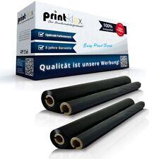 2 Recambio Rodillos térmicos para Panasonic kxfa136 Película de Tinta
