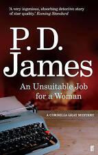 An Unsuitable Job for a Woman, Baroness P. D. James, Excellent