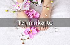 Terminkärtchen Terminkarten Fußpflege Pediküre Nagelstudio *Aktion*