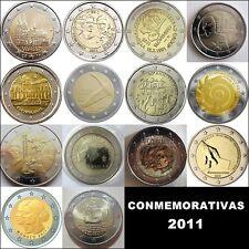 2 EURO CONMEMORATIVOS 2011 - TODOS LOS PAISES