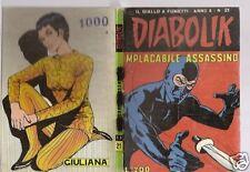 DIABOLIK ORIGINALE- ANNO X -10°-  1971 - n° 21 - RARO!