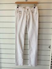 PEPE JEANS LADIES CHELSEA STRAIGHT - WHITE - sizes 26 30 32 - BNWT - rrp £75.00!
