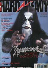 Hard & Heavy #79 -IMMORTAL- King Diamond, Hypocrisy, Eternal Tears Of Sorrow,...