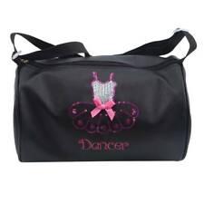 Barrel Dance Bag Glitter Kids School Gymnastics Ballet Bag Cross-Body Gift C