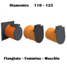 Valvola Clapet Antiriflusso di fine linea Maschio Femmina Flangiata Fognature