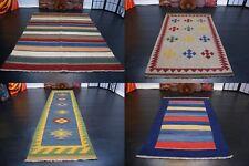 Handgewebter Ghashgai Kelim Perser Teppich Handarbeit wolle verschiedene Größe