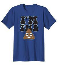Im The Sh*t Poop Emoji Social Media Texting Humor Funny T-Shirt Tee