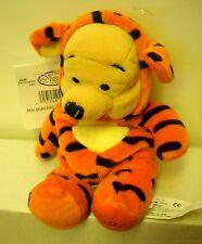 "#4300 NWT RETIRED Disney Store Halloween Pooh as Tigger 8"" Mini Bean Bag Plush"
