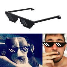Hip-hop Thug Life Sunglasses Mens Womens Deal With It Meme Glasses 8 Bit Pixel