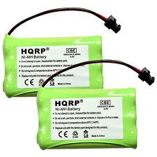 2-Pack Phone Battery for Uniden TRU9496 TRU9565 TRU9565-2 TRU9585 Telephone