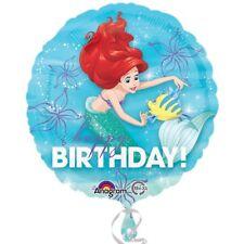 Princesse Disney Ariel Joyeux Anniversaire 45.7cm Film Ballon en aluminium