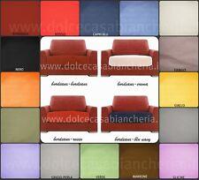 COPRICUSCINO 3 posti divano BE QUITE max cm 200  tessuto liscio PIQUET
