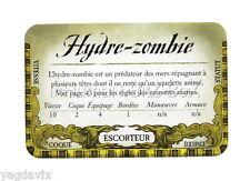 DF43 CARTE HYDRE-ZOMBIE ACCESSOIRE DREADFLEET