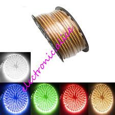 AC220V Led strip 3014 120leds/m SMD flexible light 1M 2M 3M 4M 10-20M Waterproof