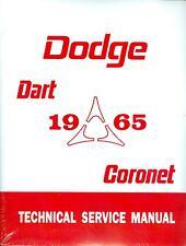 1965   65   DODGE  CORONET/DART  SHOP MANUAL