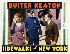 Sidewalks of New York Buster Keaton movie poster print 2