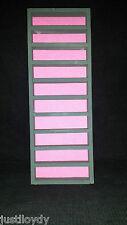 New** 50 slim thimble display rack in Dark Grey