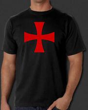 Knights Templar Order Cross Crusades Crusader Crusade New T-shirt S-6X