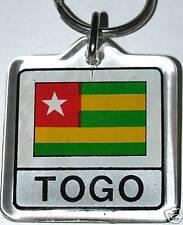 Togo, République Togolaise Flag Key Chain NEW