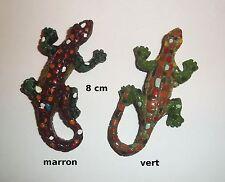 aimant lézard 8 cm, magnets lézard, envoi gratuit 2 couleurs au choix   *G-T1