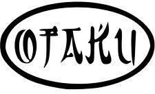 Otaku Vinyl Sticker Decal Manga Anime JDM - Choose Size and Color