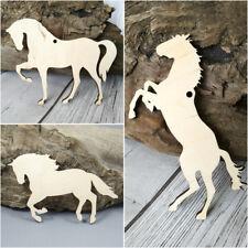 Horse Shape Horses MDF Birch Plywood Laser Cut Wooden Shapes