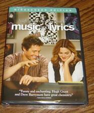 Music and Lyrics Widescreen Edition DVD – Brand New