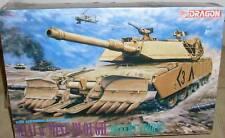 KIT DRAGON 1:35 CARRO ARMATO M1A1 W/MINE PLOUGH 3516 $