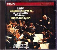 Frans BRÜGGEN: HAYDN Symphony No.90 & 93 BRUGGEN Philips CD Sinfonien