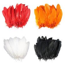 100pcs Beautiful Natural Goose Feathers 15-20cm/6-8 inch DIY Wedding Decor Craft