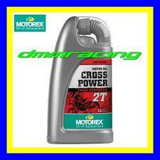 2 Litri Olio Miscela 2 tempi New MOTOREX Cross Power 2T 100% Sintetico Motore