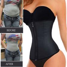 Top Fashion Reißverschluss Taille Trainer Gewichtsverlust Cincher Slim Korsett