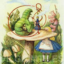 Alice In Wonderland Tiles / Plaque / Fireplace / Kitchen / Bathroom ref 21